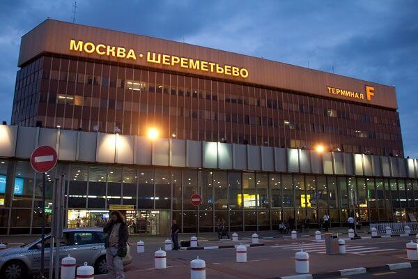 Aeroportul Sheremetyevo din Moscova, unul dintre cele mai mari aeroporturi din Europa