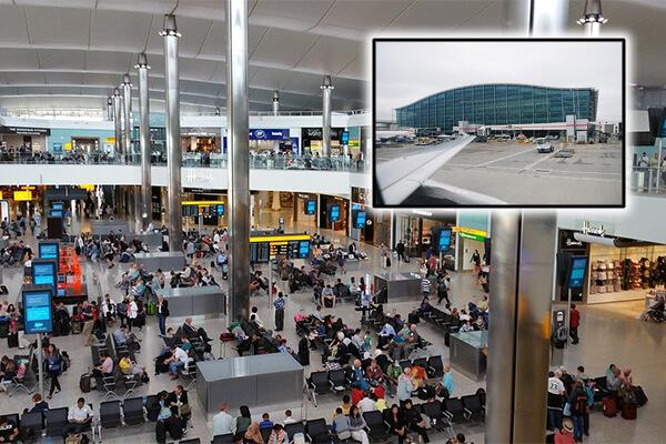 Aeroportul Heathrow: cel mai mare aeroport din Europa după numărul de pasageri