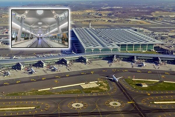 Aeroportul Internațional din Istanbul, cel mai mare aeroport din Europa după suprafața ocupată