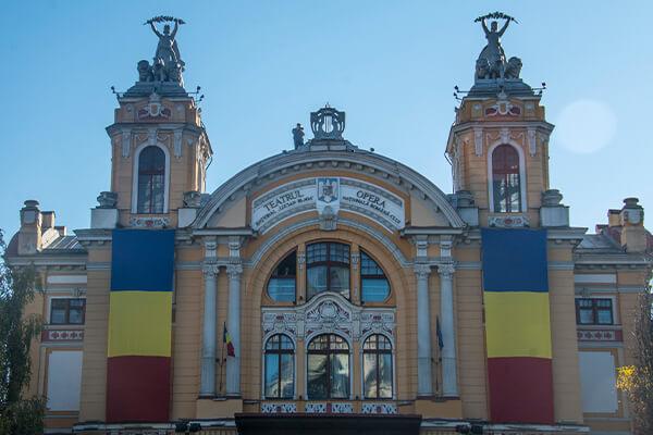 Locuri de vizitat Cluj-Napoca: Opera Nationala Romana