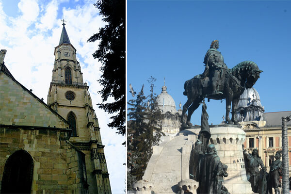 Obiective turistice în Cluj-Napoca: Piata Unirii
