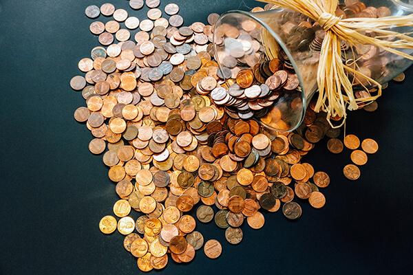 Bugetul cumpărăturilor în monede