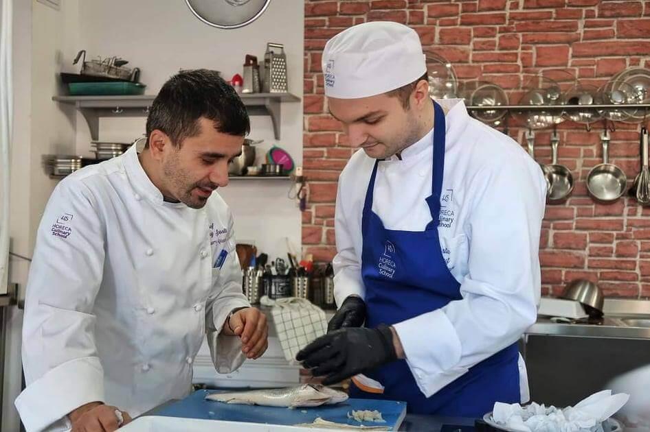 Johnny Susala la Horeca Culinary School