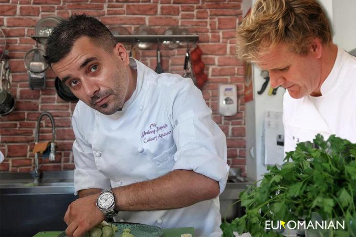 Chef Johnny Susala si Gordon Ramsay la Horeca Culinary School